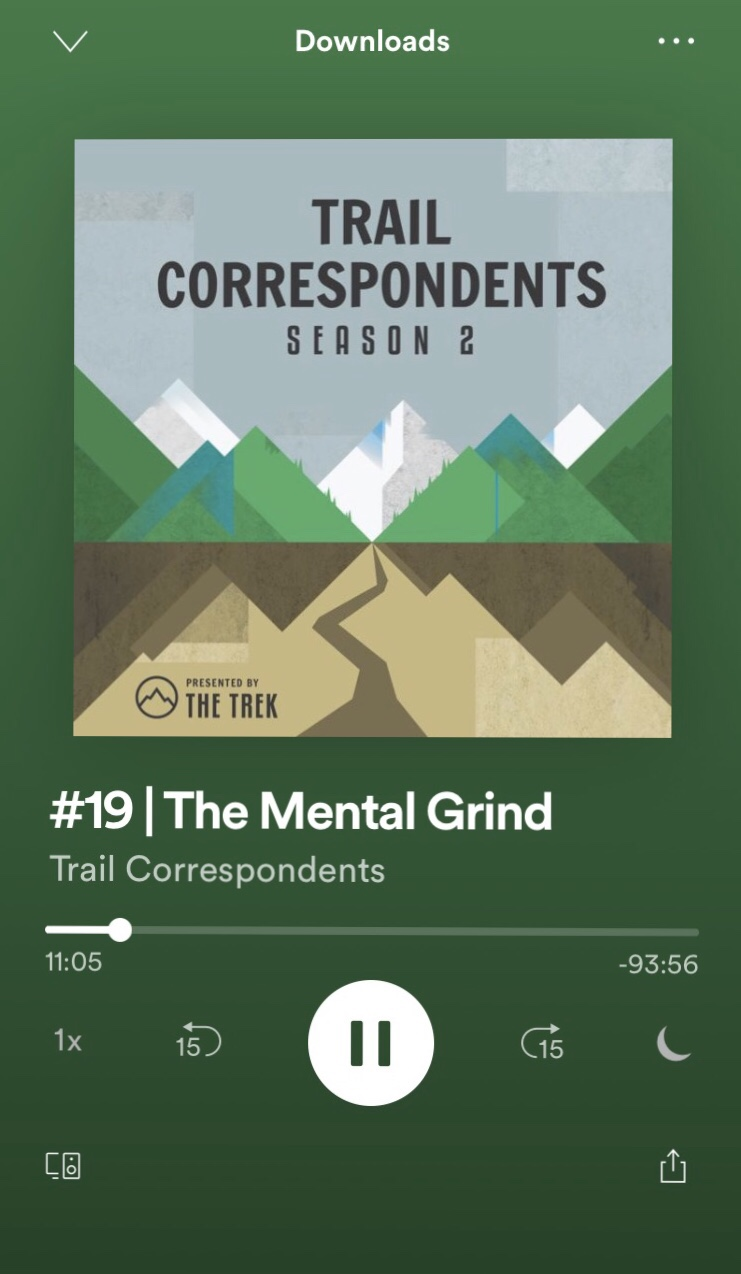 The Trek: Trail Correspondents | The Mental Grind