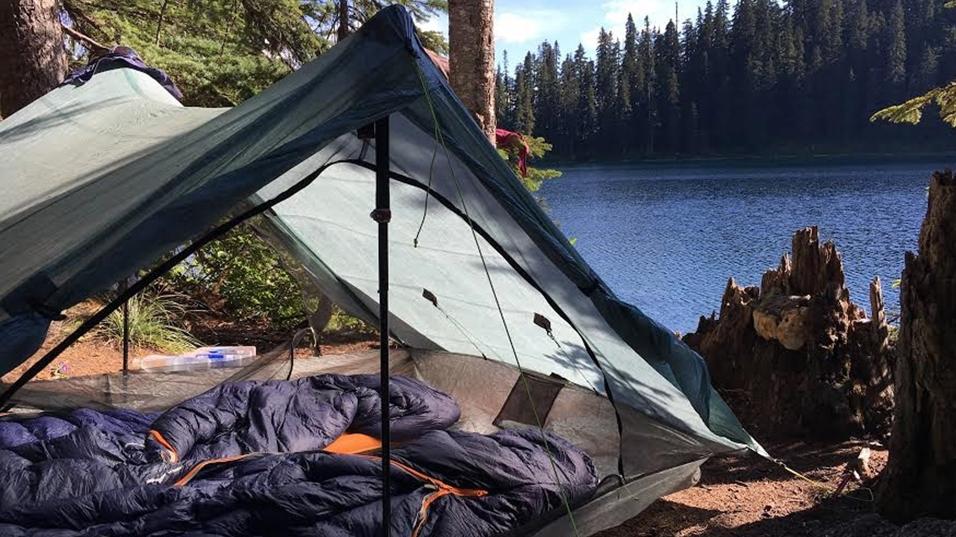 Gear: Our Shelter + Cooking/Hydration System
