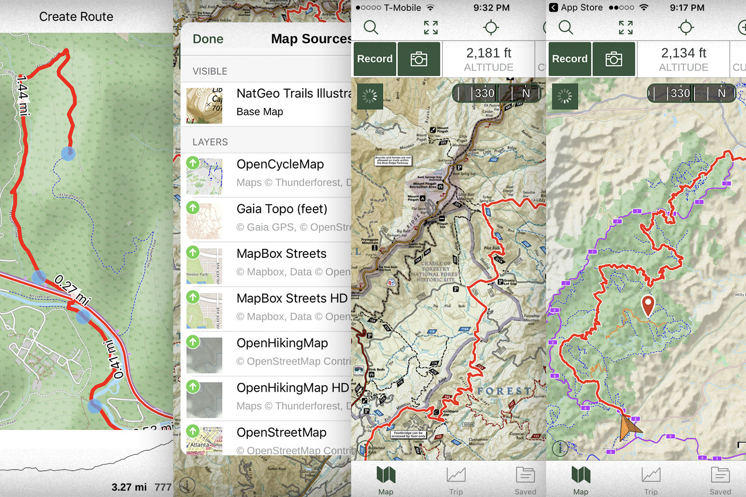 GAIA GPS / App For Backpacking
